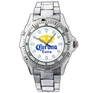 EPSP158 Corona Extra Beer Stainless Steel Wrist Watch: EPSP: Watches