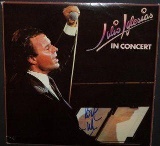 Julio Iglesias Autographed / Hand Signed Vinyl Album Cover   with Album: Julio Iglesias: Collectibles & Fine Art