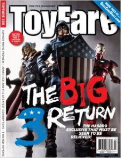 Toyfare Magazine #155 (Heroic Age Avengers, Jonah Hex, Avatar): Wizard Entertainment: Books