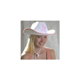White Cowgirl Hat: Toys & Games