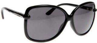 Tom Ford Sunglasses TF 165 BLACK 01A CALLAE: Tom Ford: Shoes