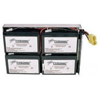Harvard HBU RBC24 Replacement Battery for APC SU1400RMJ2U: Electronics