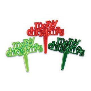 12 ~ Merry Christmas Picks ~ Designer Cupcake Toppers ~ LOOK!!!: Everything Else