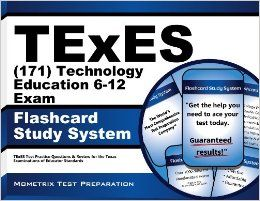 TExES (171) Technology Education 6 12 Exam Flashcard Study System: TExES Test Practice Questions & Review for the Texas Examinations of Educator Standards: TExES Exam Secrets Test Prep Team: 9781614027324: Books