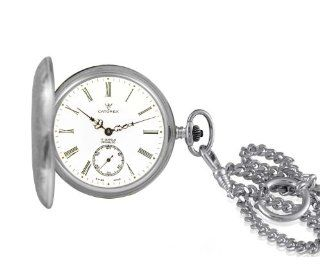 Catorex Men's 171.1.1634.110 Argent massif 925 Automatic Sub Seconds Pocket Watch: Watches