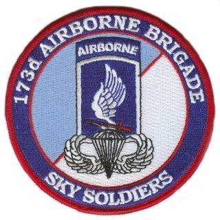 173rd Airborne Brigade Patch with Jump Wings : Other Products : Everything Else
