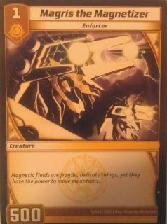 """Kaijudo """"Rise of the Duel Masters""""   Loose Single Card   #14/165   """"Magris the Magnetizer""""   Common Status"""