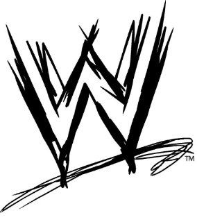 "12"" WWE world wrestling Logo Wall Graphic Decal Skin Sticker for Kids Room Man Cave NEW !!: Home Improvement"