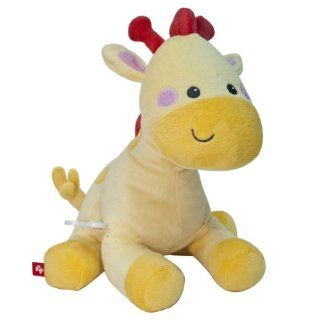 Fisher Price Musical Waggy Plush Toy, Giraffe Baby