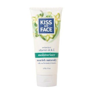 Kiss My Face Moisturizer, Vitamin A & E 6 fl oz (177 ml): Health & Personal Care