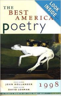The Best American Poetry 1998: David Lehman: 9780684814537: Books