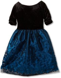 Hype Girls 7 16 Jayden Dress, Teal, 8: Clothing