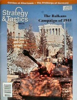 DG: Strategy & Tactics Magazine #182, with The Balkans, 1941, Board Game: Toys & Games