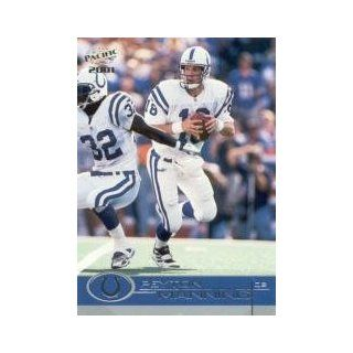 2001 Pacific #183 Peyton Manning: Sports Collectibles