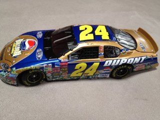 Nascar   Jeff Gordon #24   Dupont / Pepsi Play for One Billion Dollars   2003 Monte Carlo   1:24 Scale Stock Car   Limited Edition 1 of 22,692: Toys & Games
