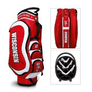 Wisconsin Badgers Logo Golf Cart Bag: Sports & Outdoors