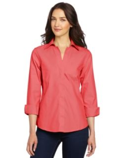 Foxcroft Women's Taylor Essential Shirt at  Women�s Clothing store