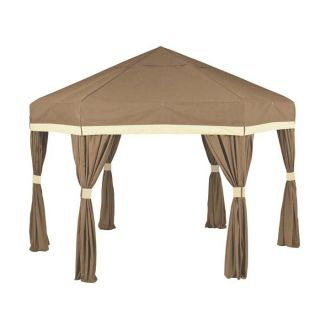 E Z UP 13 x 13 ft. Deco Pavilion   Cocoa   Canopies