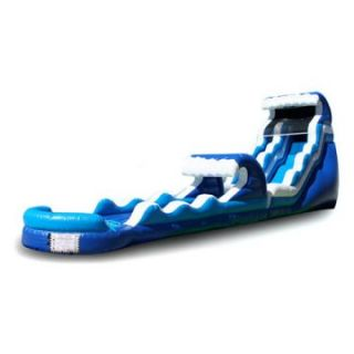 EZ Inflatables 22 ft. Tsunami Water Slide   Commercial Inflatables