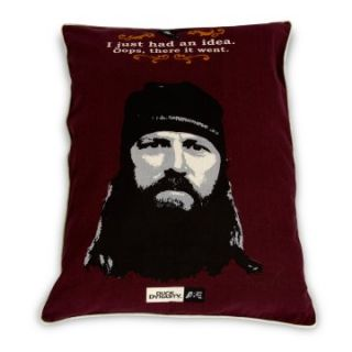 Duck Dynasty   Jase   Character Quote Idea Pet Bed 27 x 36 Softies Maroon   Dog Beds