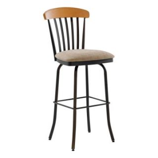 Amisco 30 Inch Tammy Swivel Bar Stool   Bar Stools