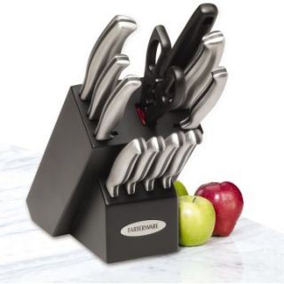 Farberware 12 Piece Stamped Stainless Steel Cutlery Set   Knives & Cutlery