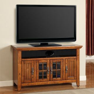 Parker House Terrace 50 in. TV Console   Antique Vintage Oak   TV Stands
