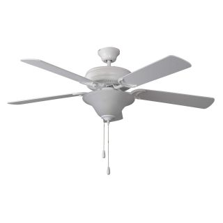 Ellington E DCF52MWW5C1 Decorator's Choice 52 in. Indoor Ceiling Fan   Matt White   Ceiling Fans