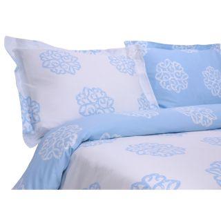 Elite Home T310 Milena Reversible Print Duvet Set   Duvet Covers