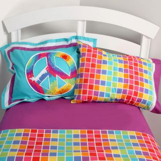 Terrific Tie Dye Sheet Set   Girls Bedding