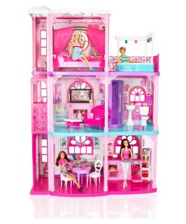 Mattel Barbie 3 Story Dreamhouse   Toy Dollhouses
