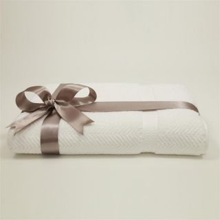 Luxury Hotel & Spa Herringbone Weave 100% Turkish Cotton Bath Sheet   Bath Towels