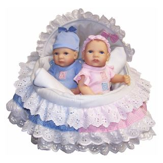 Molly P. Originals Anatomically Correct Boy and Girl 12 in.Twin Dolls   Baby Dolls