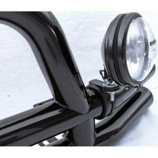 2005 2012 Jeep Wrangler (JK) Light Bar Mounting Bracket   Rugged Ridge, Direct fit, Polished, Stainless steel
