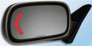 2001 2006 Toyota Sequoia Mirror Glass   Muth, Direct fit, With turn signal, Heated