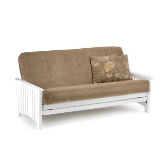 Key West White Futon Frame   Futon Frames