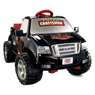 Fisher Price Power Wheels Battery Operated Craftsman F 150 Truck Riding Toy   Battery Powered Riding Toys