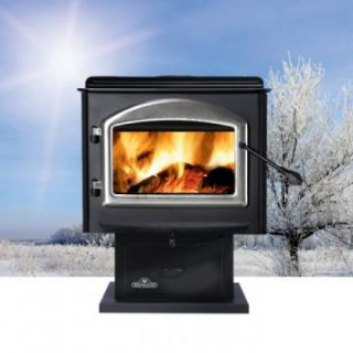 Napoleon Large Wood Stove with Pedestal   Wood Stoves