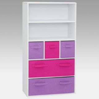 4D Concepts Pastel Storage Bookcase   Pink   Kids Bookcases
