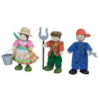 Le Toy Van Farm   Set of 3   Toy Dollhouse Accessories