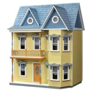 Real Good Toys Princess Anne Dollhouse Kit in Milled Plywood   Collector Dollhouse Kits