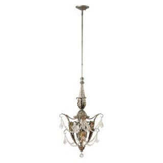 Yosemite Home Decor Swag 2 Light Mini Pendant   17.5W in.   Caribbean Gold   Pendant Lighting