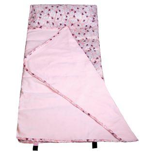 Wildkin Lady Bug Pink Easy Clean Nap Mat   Kids Sleeping Bags