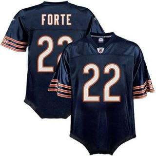 Reebok NFL Equipment Chicago Bears #22 Matt Forte Infant Navy Blue Replica Jersey Creeper