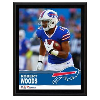 Robert Woods Buffalo Bills Sublimated 10.5 x 13 Plaque