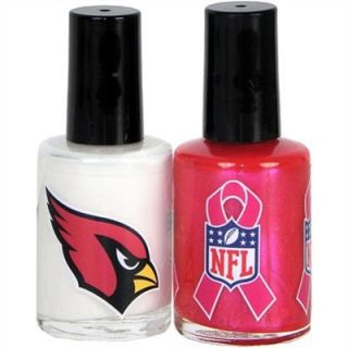 KE Specialties Arizona Cardinals Breast Cancer Nail Polish