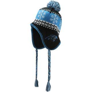 47 Brand Carolina Panthers Abomination Knit Beanie   Black/Panther Blue
