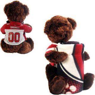 Northwest Arizona Cardinals 40 x 50 Fleece Blanket with Bear