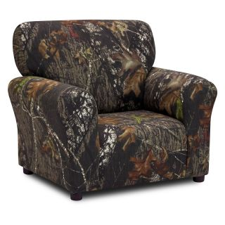 Kidz World Mossy Oak Camouflage Club Chair   Kids Arm Chairs