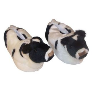 Comfy Feet Cow Animal Feet Youth Slippers   Kids Slippers